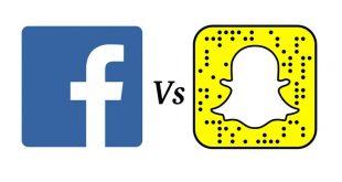 فيسبوك و سناب شات
