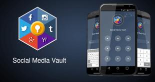 تطبيق-Social media Vault