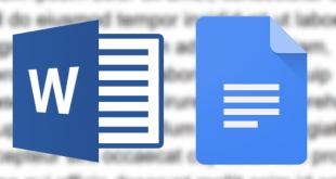 google docs و word