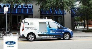 Ford تعرض لنا بالتعاون مع Postmates سيارات التوصيل الذاتية القيادة