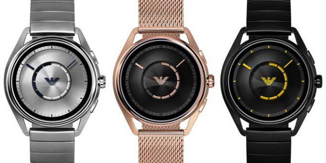 Emporio Armani تعلن عن ساعة ذكية جديد تعمل بنظام تشغيل Wear