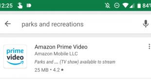 جوجل بلاي يعرض لك تطبيقات البث التي تحتوي على العرض الذي تبحث عنه