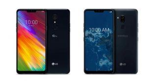 إل جي تعلن عن هواتف LG G7 One و LG G7 Fit