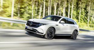 مرسيدس بنز تدخل عالم السيارات الكهربائية بسيارة EQC