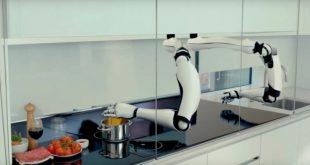 هذا الرجل الآلي بإمكانه طهي أي طعام تريده