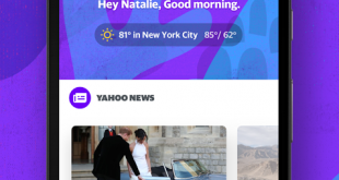 ياهو تطلق تطبيق جديد لعرض الأخبار والطقس والمزيد في مكان واحد