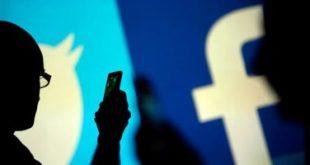 فيس بوك وجوجل وتويتر يزيلون 30 مليون منشور غير قانونى من مواقعهم