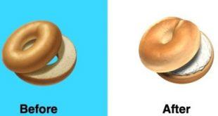 """أبل تغير تصميم إيموشن """"الخبز"""" بعد موجة الانتقادات"""