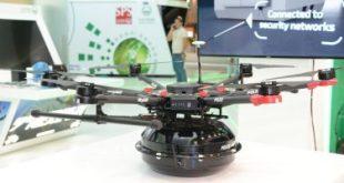 """الإمارات تكشف عن أحدث طائرتها دون طيار """"الدرون"""" فى معرض جيتكس للتقنية"""