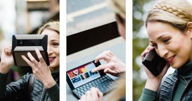 "Cosmo Communicator هاتف ذكى جديد يمكن استخدامه كـ""لاب توب"""