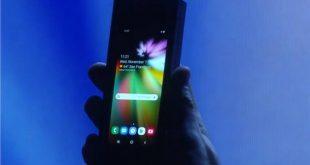 سامسونج ستقوم بإنتاج ما لا يقل عن مليون هاتف قابل للطى أولا