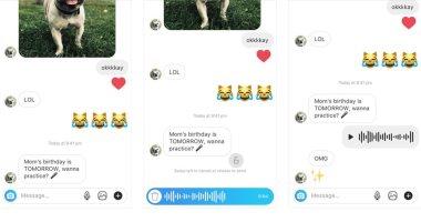 الآن يمكنك إرسال رسائل صوتية لأصدقائك على انستجرام