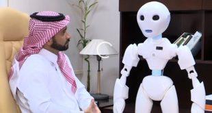 """الروبوت """"تقني"""" أول موظف آلي في وزارة التعليم بالسعودية"""