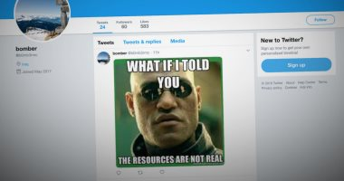 العثور على أكواد برمجية خبيثة بالصور الساخرة على تويتر