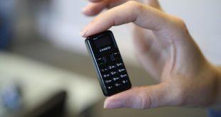 طرح أصغر هاتف فى العالم فى الأسواق