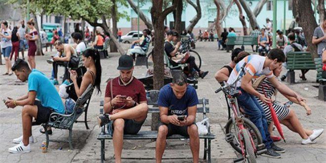 كوبا تعلن إتاحة الإنترنت بالكامل على الهواتف المحمولة