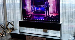 LG تكشف رسميًا عن LG SIGNATURE OLED TV R بإعتباره أول تلفاز قابل للف في العالم