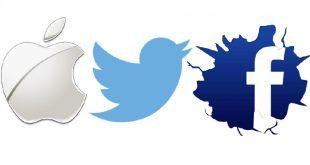 تحركات جديدة من أبل وفيس بوك وتويتر تثير قلق المستثمرين