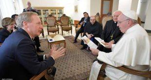 البابا فرنسيس ومايكروسوفت يبحثان أخلاقيات الذكاء الاصطناعي