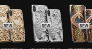 Caviar تطلق نسخة ذهبية من هاتفى آيفون XS وXS Max