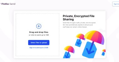 Firefox Send ميزة جديدة لنقل الملفات المشفرة مجانا للجميع