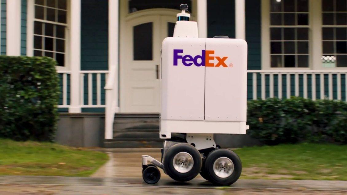 شركة FedEx تكشف لنا عن روبوت التسليم الذاتي القيادة الخاص بها