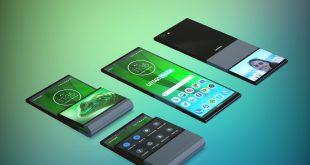 Lenovo تسجل براءة إختراع لهاتف ذكي قابل للطي في المحور الأفقي