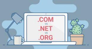 """تعرف على أبرز الاختلافات بين """"com. و net. و org."""""""