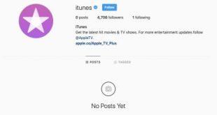 أبل تحذف محتوى صفحات iTunes على فيس بوك وإنستجرام
