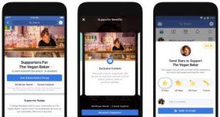 فيس بوك يعلن عن خطط جديدة لمساعدة منشئ المحتوى على الربح