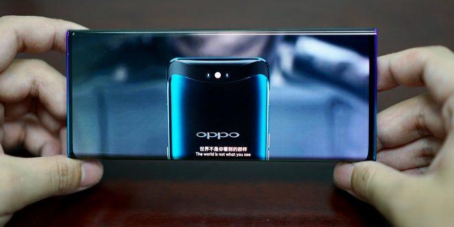 تصميم جديد من اوبو لشاشة هاتف ذكي بدون حواف