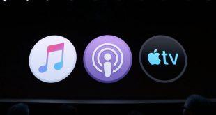 أبل تنهى خدمة iTunes للموسيقى وتستبدلها بثلاث تطبيقات منفصلة