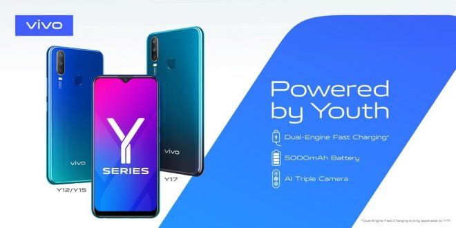 فيفو تطلق نطاق سلسلة هواتف Y Series المتطورة