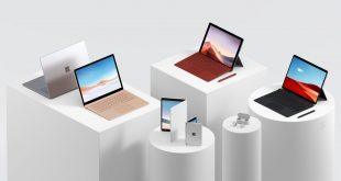 مايكروسوفت تكشف عن Surface Laptop 3 و Surface Pro 7 و Surface Pro X