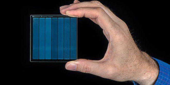 التخزين على الزجاج.. تقنية مذهلة من مايكروسوفت
