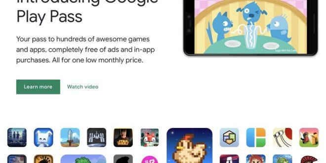جوجل تضيف 37 تطبيقا جديدا لخدمة الألعاب Play Pass