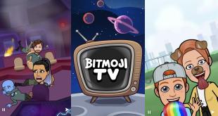 سناب شات يستعد لإطلاق Bitmoji TV..