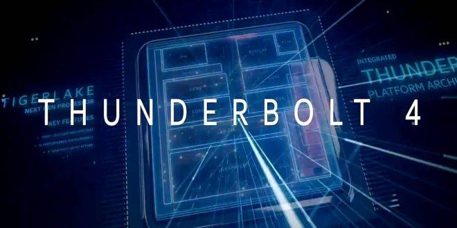إنتل تعلن عن Thunderbolt 4 .. لكنه ليس أسرع من Thunderbolt 3