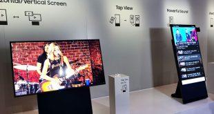 تلفاز Samsung Sero TV القابل للدوران يقترب من شق طريقه للأسواق العالمية