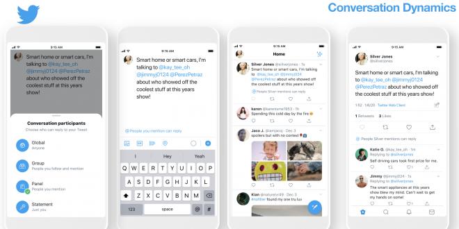 تويتر تكشف عن خيارات التحكم بمن يمكنه الرد على تغريداتك