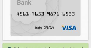يتيح تطبيق Credit Card Reader اكتشاف وقراءة بيانات بطاقات الائتمان الخاصة بك