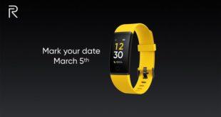Realme تُشوق لقدوم ساعة ذكية وإسوارة للياقة البدنية، وتكشف عن خطهها لأجهزة IoT