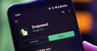 جوجل تطرح أول تحديث لتطبيق Snapseed منذ 2018.