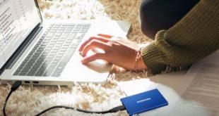 الذاكرة التخزينية الخارجية Samsung T7 SSD متاحة الآن للشراء بسعر يبدأ من 130$