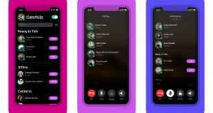 فيسبوك تطلق تطبيق CatchUp للمكالمات الصوتية بميزات فريدة