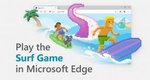 مايكروسوفت تجلب لعبة لركوب الأمواج إلى المتصفح Microsoft Edge