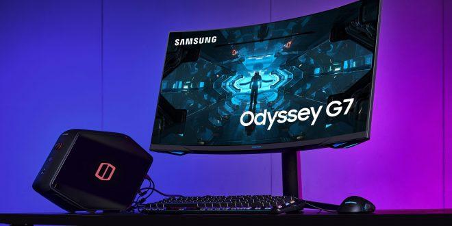 سامسونج تطلق أول شاشة ألعاب مع معدل انحناء 1000R