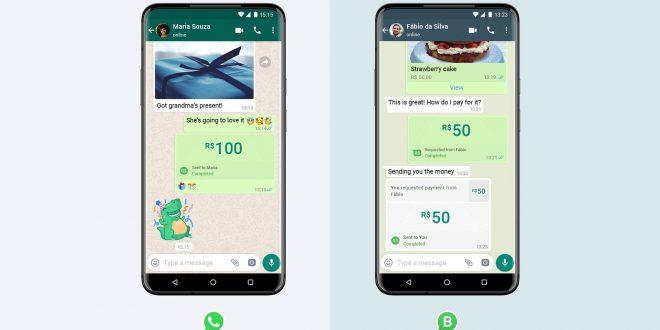 فيسبوك تطلق خدمة الدفع عبر واتساب في البرازيل