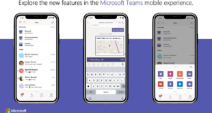 مايكروسوفت تبدأ بإطلاق ميزات موجهة للمستهلكين في Teams في أندرويد وiOS