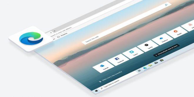 مايكروسوفت ستدمج متصفح إيدج الجديد في تحديث ويندوز 10 الكبير التالي
